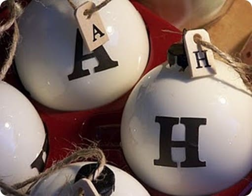 Alphabet Ornaments