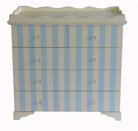 Cabana Stripes Dresser Changing Table