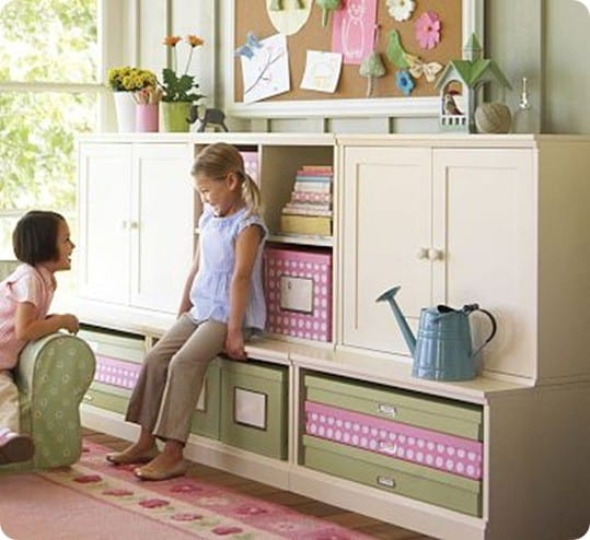 Best Of Knock Off Decor 2 Playroom Cubby Storage With Hutch