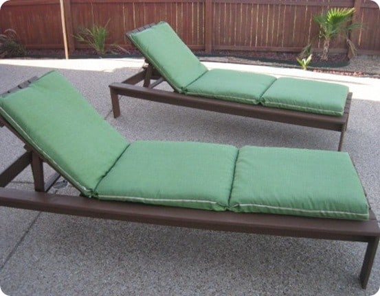 Outdoor chaise lounge chairs for Build chaise lounge