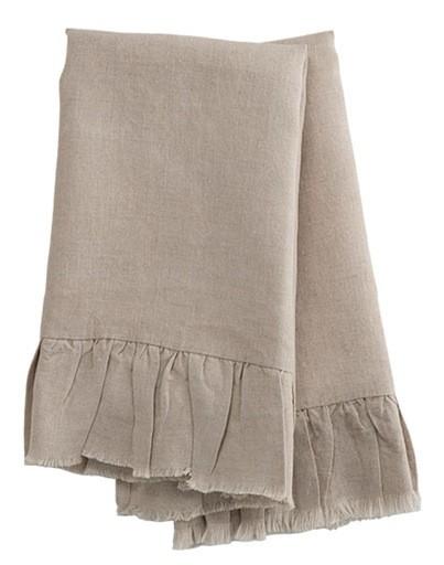 Natural Linen Hand Towels