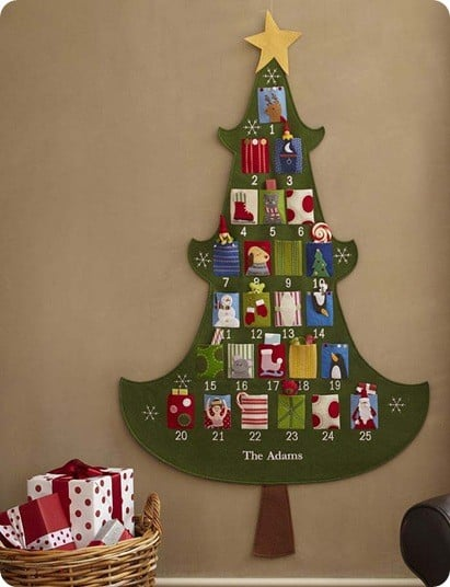 PB Christmas Tree Advent