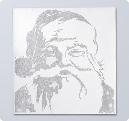 Silver Santa Claus Sketch