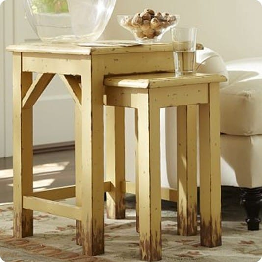 pratt nesting side table