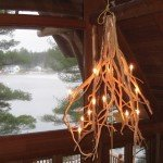 Rustic Branch Chandelier