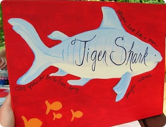 Tiger Shark Wall Art