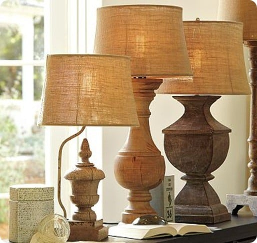 Architectural Salvage Lamp Bases