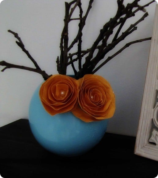 Terra Was Inspired By The Curvy Chrysanthemum Vase From Anthropologie.