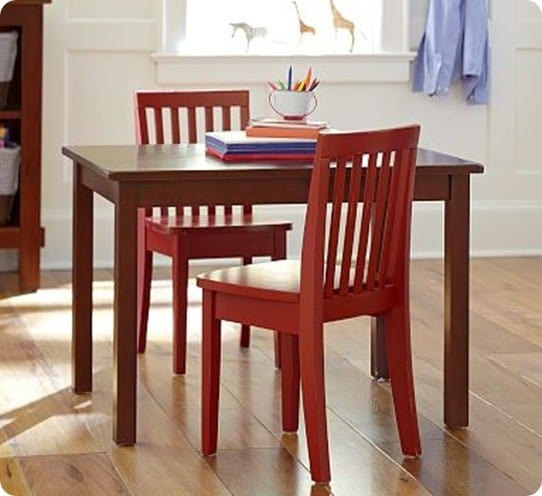Children s play table and chairs for Small chair for kid