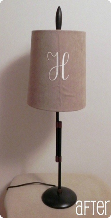 Copper Accented Table Lamp