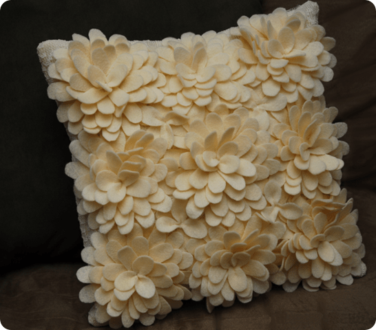 DIY Petal Pillow