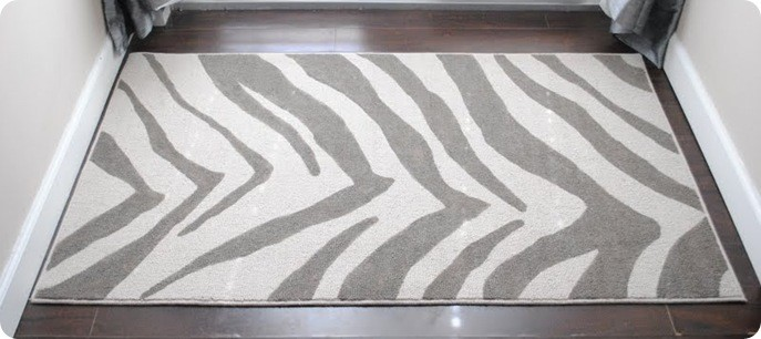Gray And White Zebra Rug Roselawnlutheran
