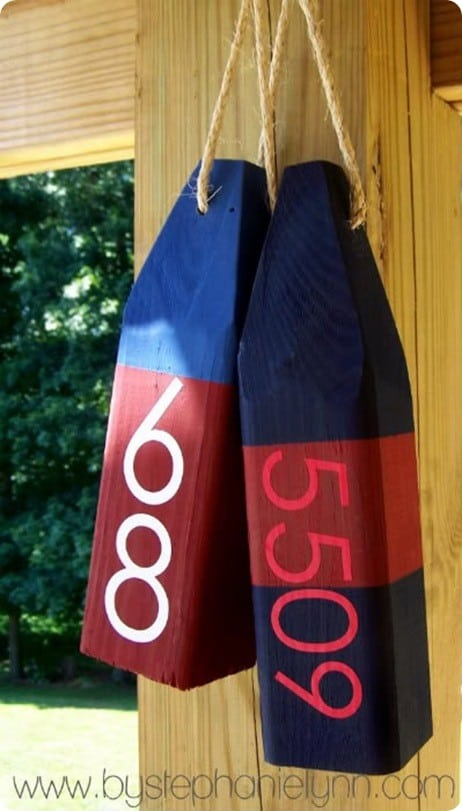 Nautical Wooden Buoys