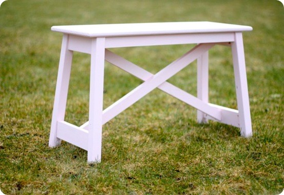 Rustic Farmhouse Style Bench