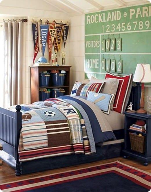 junior varsity sports bedroom