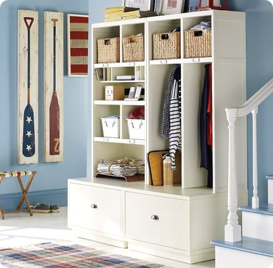 Entryway Storage Furniture Locker - Kitchen Layout and Decorating