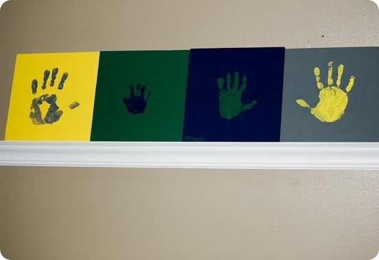 Canvas Handprint Art