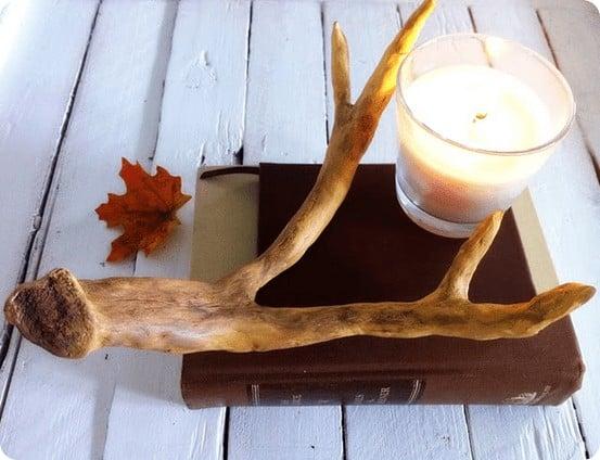Clay Deer Antlers