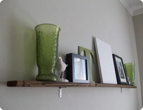 Floorboard Shelf