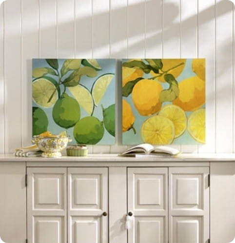 Fresh Limes & Lemons Prints