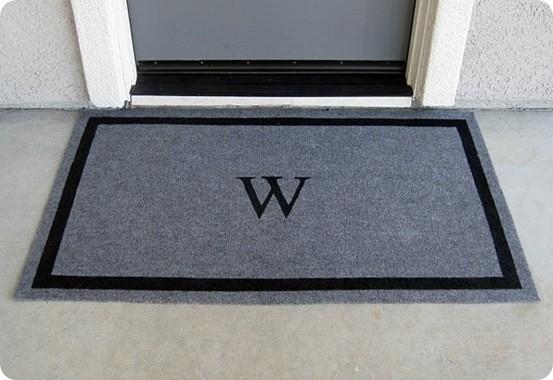 Custom Stenciled Doormats Knockoffdecor Com