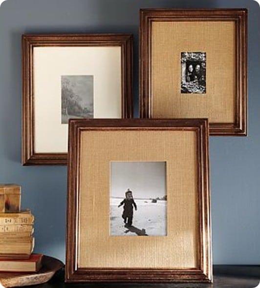 Amazing Multi Mat Frames Burlap
