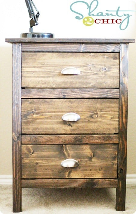 Barn Wood Night Stand Plans