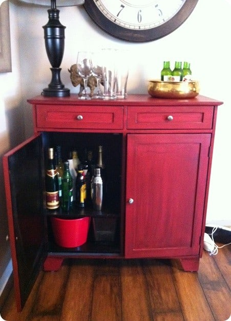 Red Glazed Bar