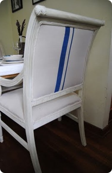 Refabbed Louis XVI chairs