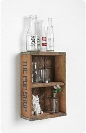 Urban Outfitters Vintage Pop Shop Shelf