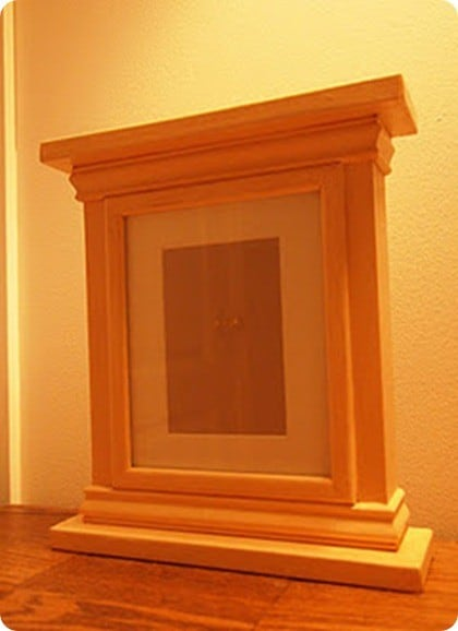 Architectural Wood Frame