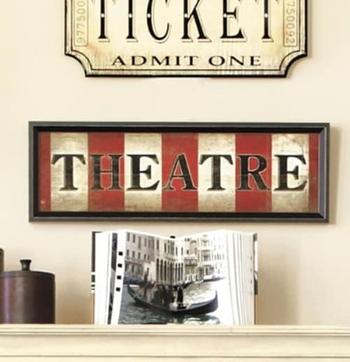 Ballard Theatre Sign