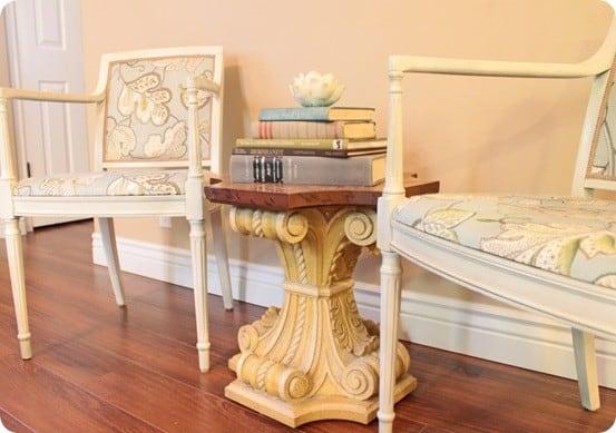 Ballard inspired chair reupholstery