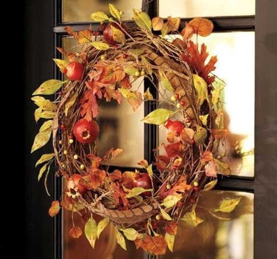 Berry And Gourd Fall Wreath