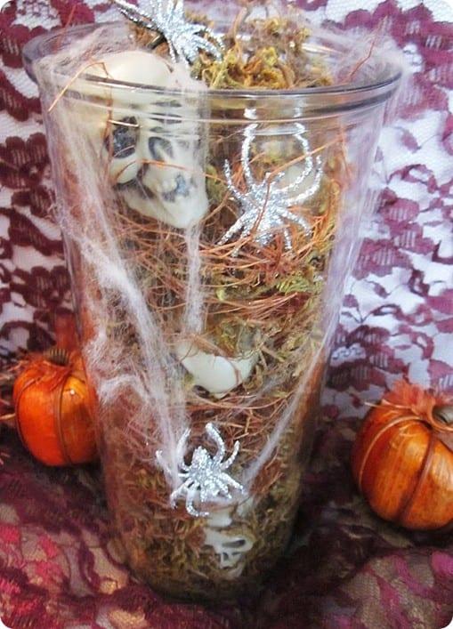Mini Skull Vase Filler
