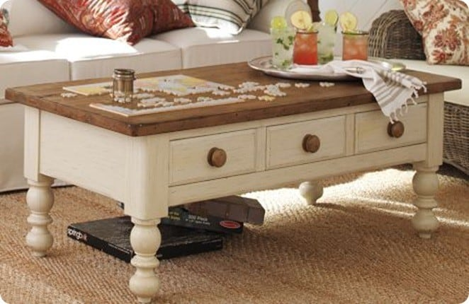 Two Tone Coffee Table Knockoffdecor Com