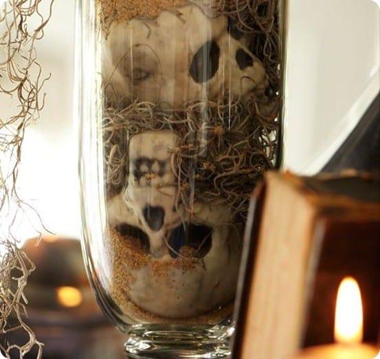PB Mini Skull Vase Filler