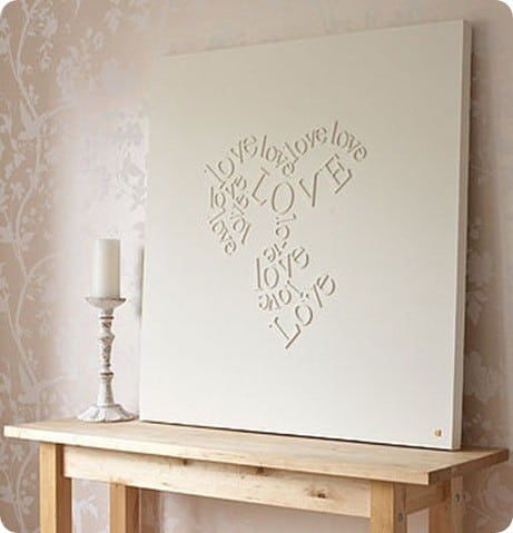 The Personalised Falling In Love Canvas By Gorgeous Graffiti