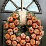 Best of Knock Off Decor #7: Pumpkin and Moss Fall Wreath