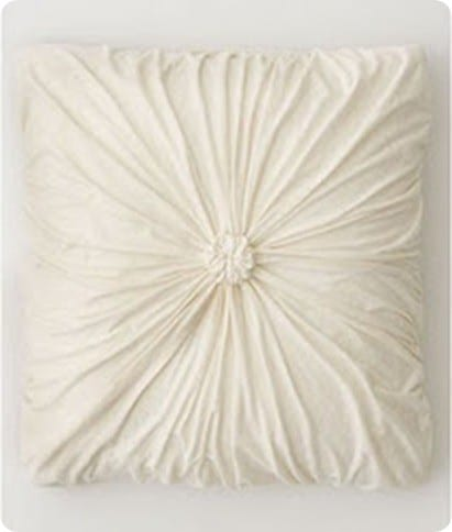 Anthro Rosette Pillow