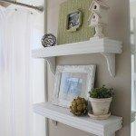White Café Shelves