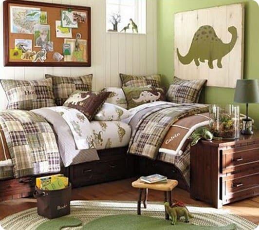 PB Kids Dino Bedroom