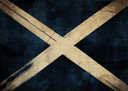 Scotland Flag Wall Art