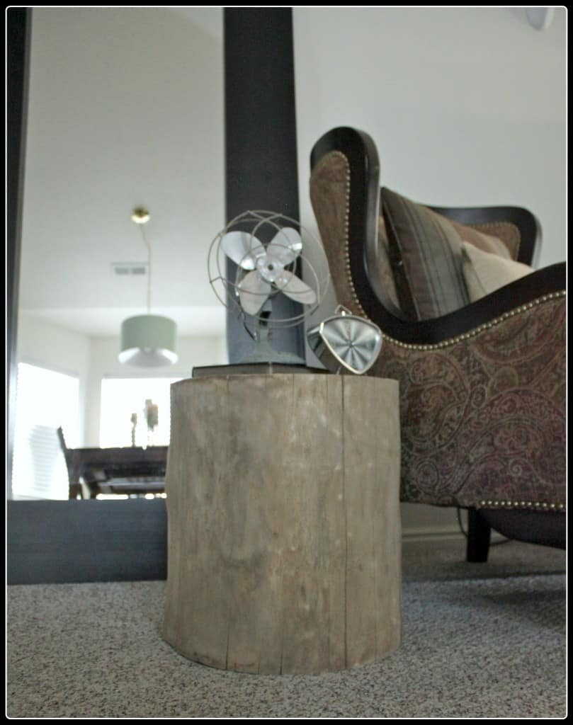 Tree Stump Side Table Knockoffdecor Com