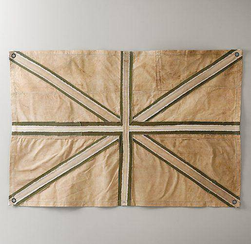 Union Jack Reclaimed Canvas Tarp