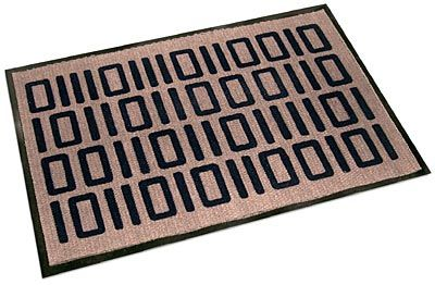 Binary welcome mat - Geeky welcome mats ...