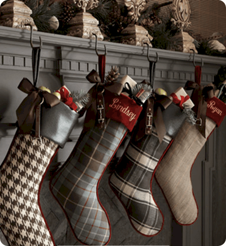 plaid christmas stockings - Plaid Christmas Stockings