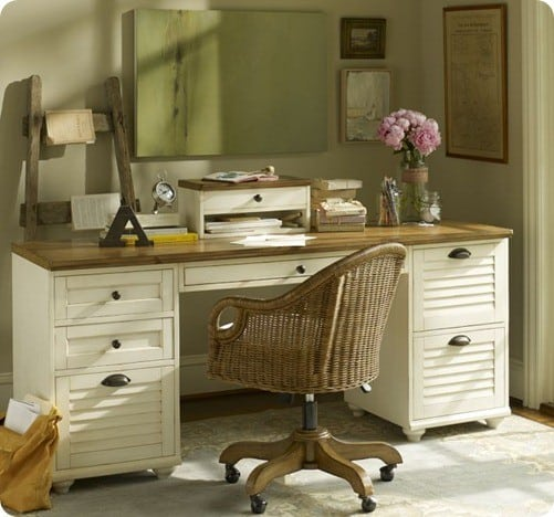 Whitney Rectangular Desk Set