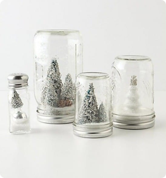 anthro snow globes
