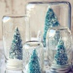 Jar Snow Globes